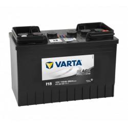 VARTA Promotive Black 110Ah 680A jobb+ Akkumulátorok VARTA